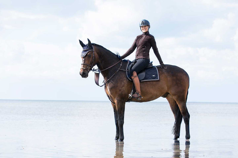 PS of Sweden Fly Hat - Sapphire - The Dressage Store