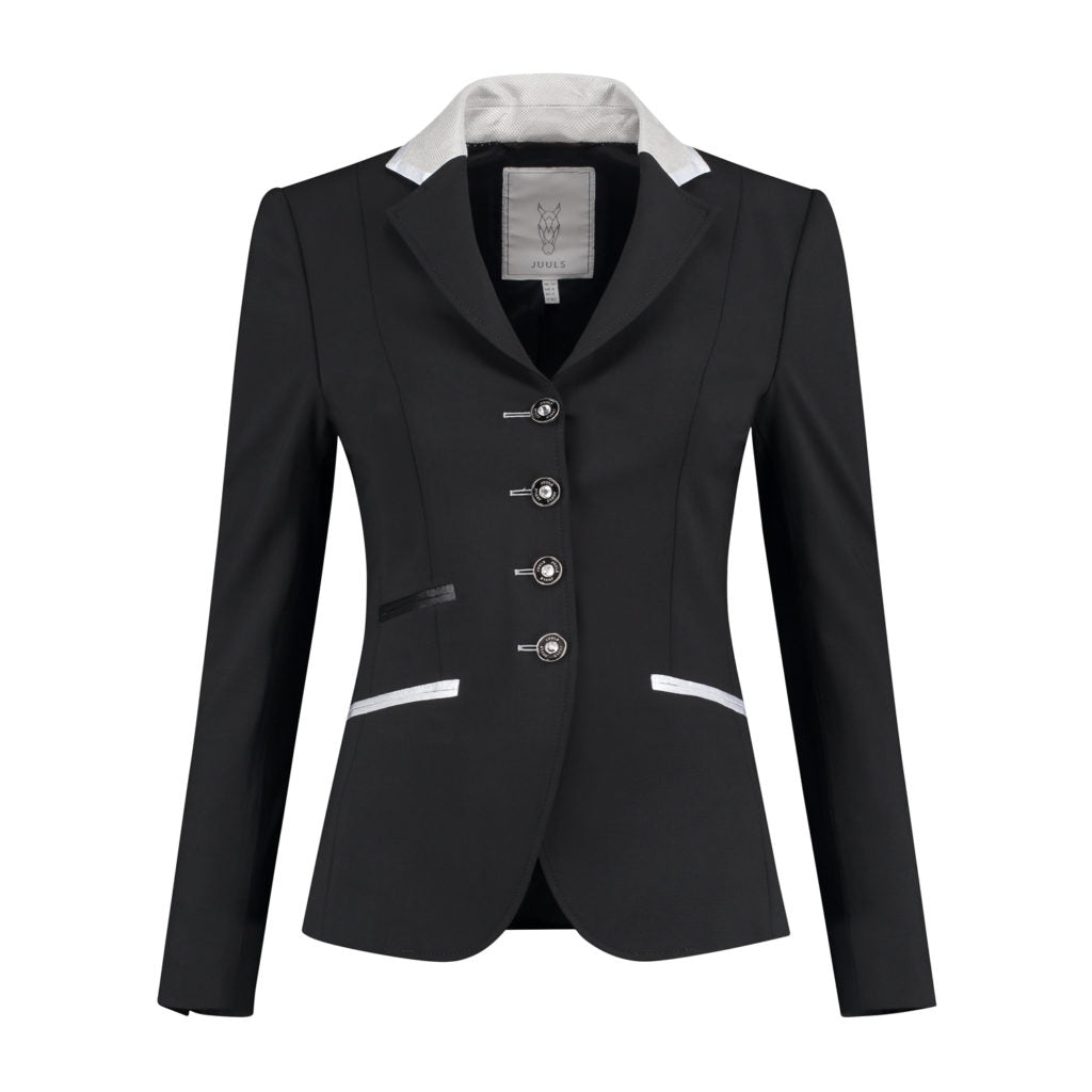 Classic Black Short Competition Jacket - The Dressage Store