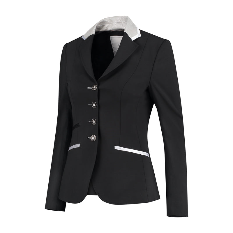 Juuls Classic Short Competition Jacket - Black - The Dressage Store