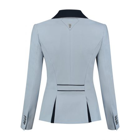 Juuls Classic Short Competition Jacket - Light Blue, Navy & Swarovski® Elements - The Dressage Store