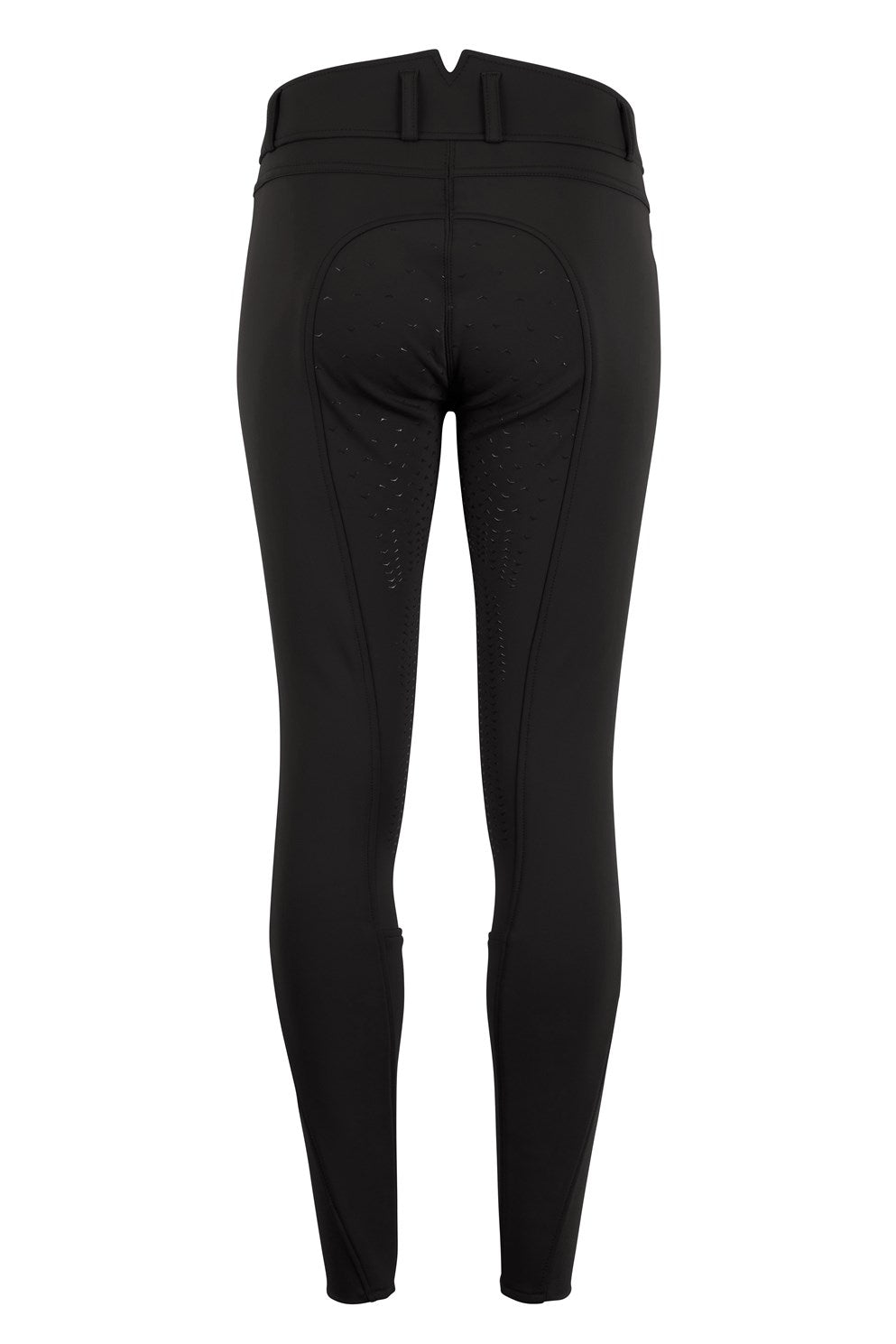 Montar Karly Winter Riding Breech - Black - The Dressage Store