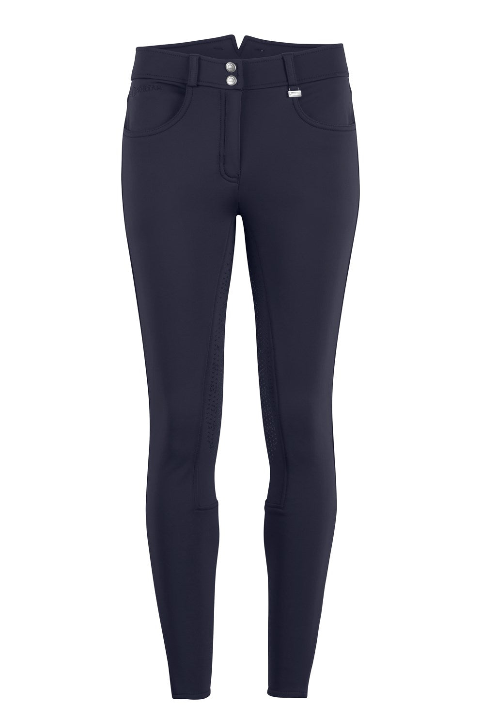 Montar Karly Winter Riding Breech - Navy - The Dressage Store