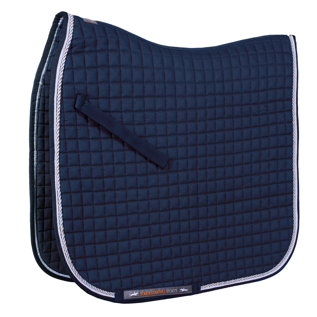 Schockemöhle Neo Star Dressage Pad - Navy - The Dressage Store