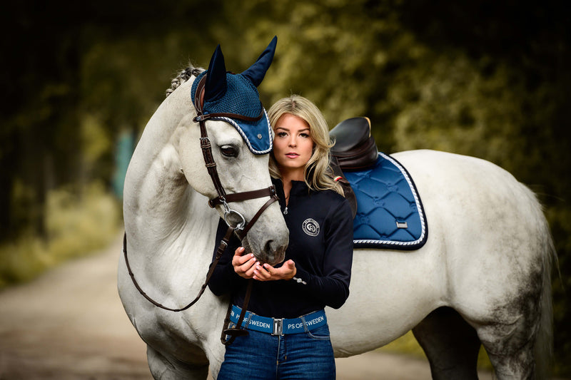 Ps of Sweden Fly Hat - Neptuna - The Dressage Store