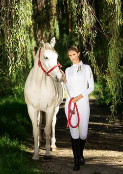 Ronner Show Shirt - Perla - The Dressage Store