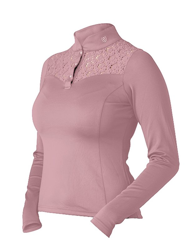 Equestrian Stockholm Champion Long Sleeve - Pink - The Dressage Store
