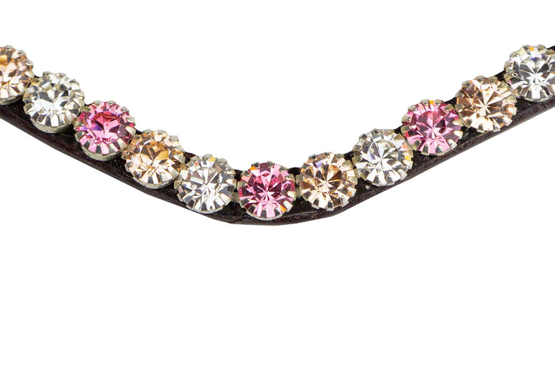 PS of Sweden Browband - Big Pink Bloom - The Dressage Store
