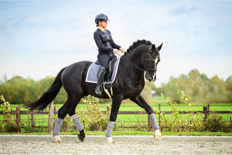 PS of Sweden PRO Collection Grey Polo Wraps - The Dressage Store