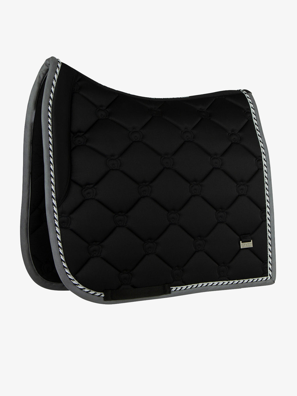 Ps of Sweden Dressage Saddle Pad Black - The Dressage Store