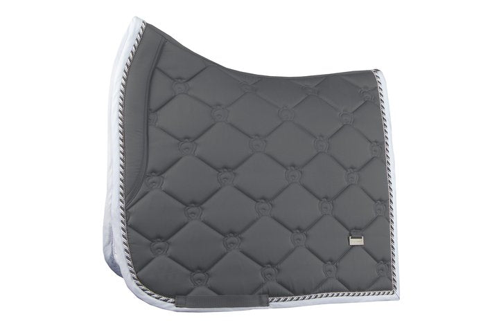 PS of Sweden Dressage Saddle Pad - Charcoal - The Dressage Store