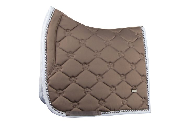 PS of Sweden Dressage Saddle Pad - Walnut - The Dressage Store