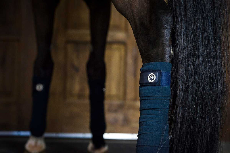 PS of Sweden Polo Wraps - Sapphire - The Dressage Store