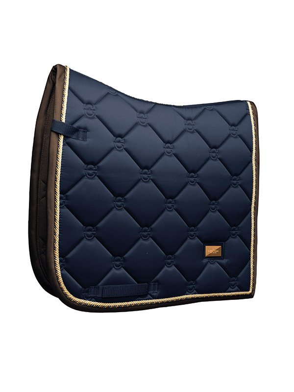 Equestrian Stockholm Dressage Saddle Pad - Royal Classic - The Dressage Store