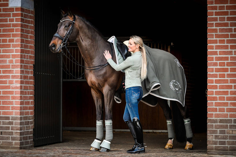 PS of Sweden Polo Wrap Sage - The Dressage Store