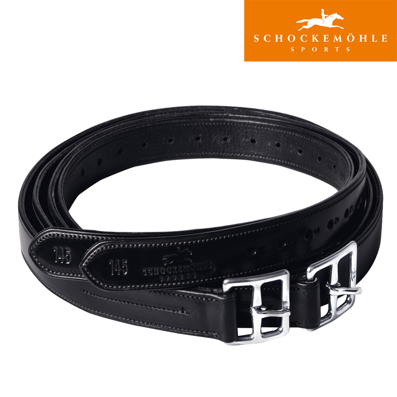 Schockemöhle Stirrup Leathers - Chantilly - The Dressage Store