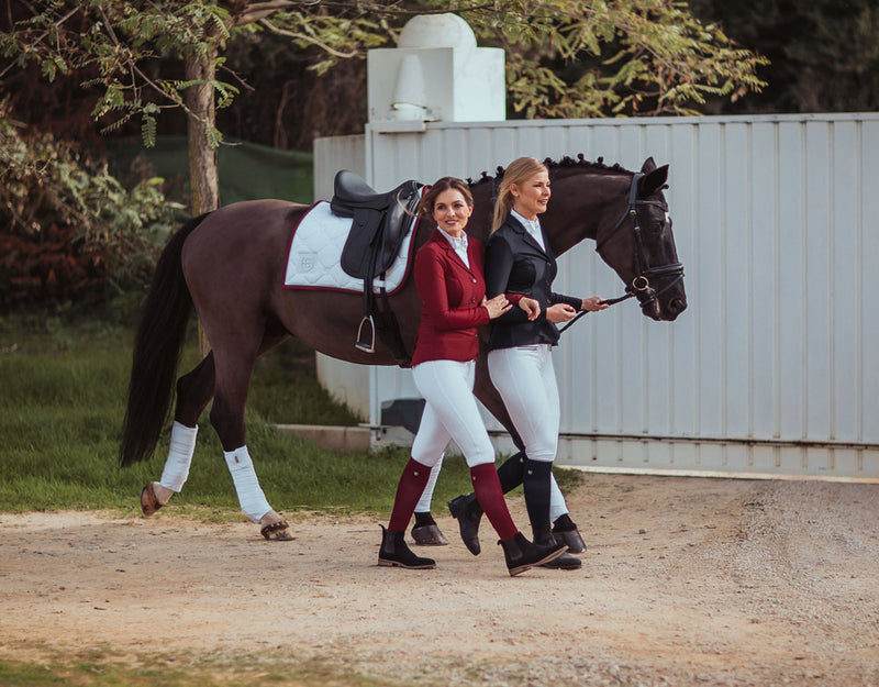 Equestrian Stockholm Competition Jacket - Navy - The Dressage Store