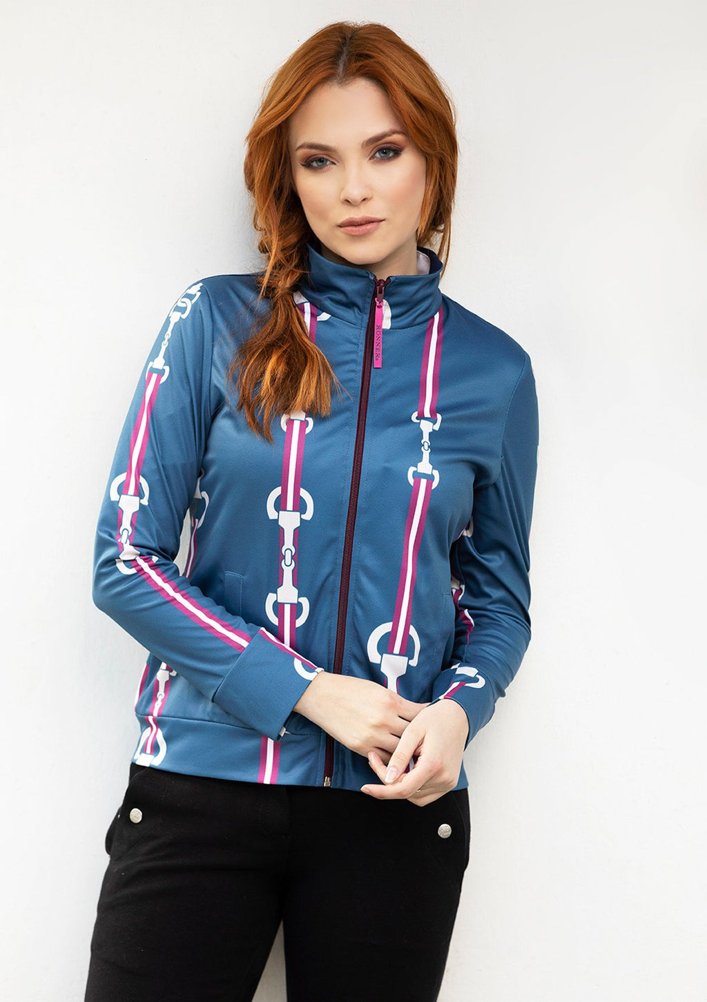 Ronner Zip Jacket - Stallion - The Dressage Store