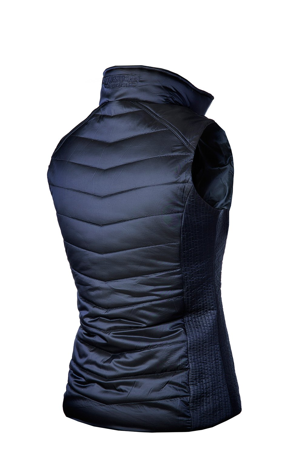 Equestrian Stockholm Navy Classic Vest - The Dressage Store