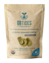 Load image into Gallery viewer, Everything Puffed Seaweed Chips (4 Pack)