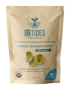 Sea Salt Puffed Seaweed Chips (4 Pack)