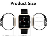 Classy L3 multifunction touch screen smart watch with TF and SIM card slot for independent use