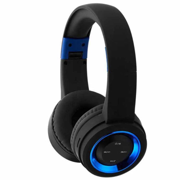 Wireless Bluetooth stereo headset supports TF card, FM radio and built in microphone to make & receive call. Suitable for mobile phone & PC