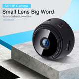 HD 1080P Mini WIFI Wireless IP Home Security Camera with Night Vision, Motion Detector and Camcorder Loop Video Recorder
