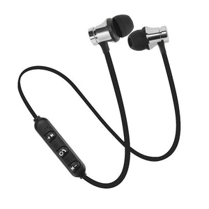 Bluetooth Hands-Free Noise Reduction Sports Magnetic Earphones with Microphone - Express Delivery Option Available in South Africa (At Reduced Rates)