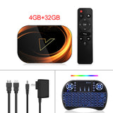 2020 VONTAR X3 4GB 128GB 8K Smart TVBOX Amlogic S905X3 9.0 Wifi 1080P 4K Android TV Set Top Box 4GB 64GB 32GB - Wireless Xpert