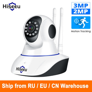 Hiseeu 1080P 1536P IP Camera Wireless Home Security Camera Surveillance Camera Wifi Night Vision CCTV Camera 2mp Baby Monitor - Wireless Xpert