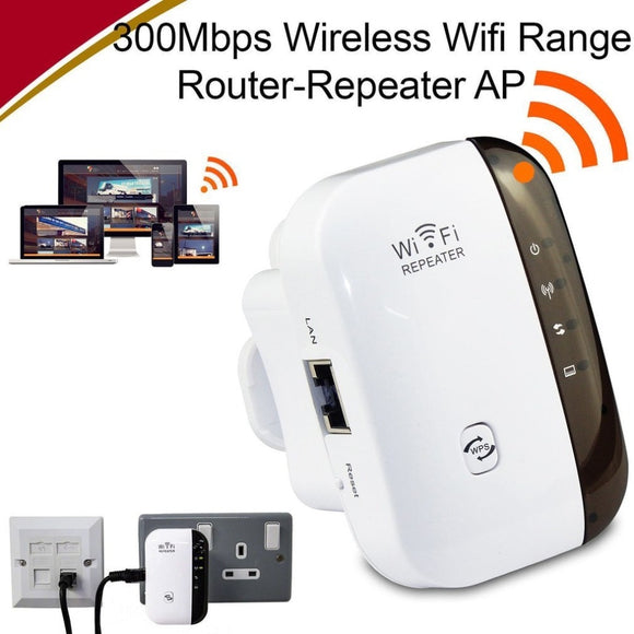 Wireless 300 Mbps Wifi Router, Repeater, Signal Booster 802.11 N/B/G EU US AU Plug
