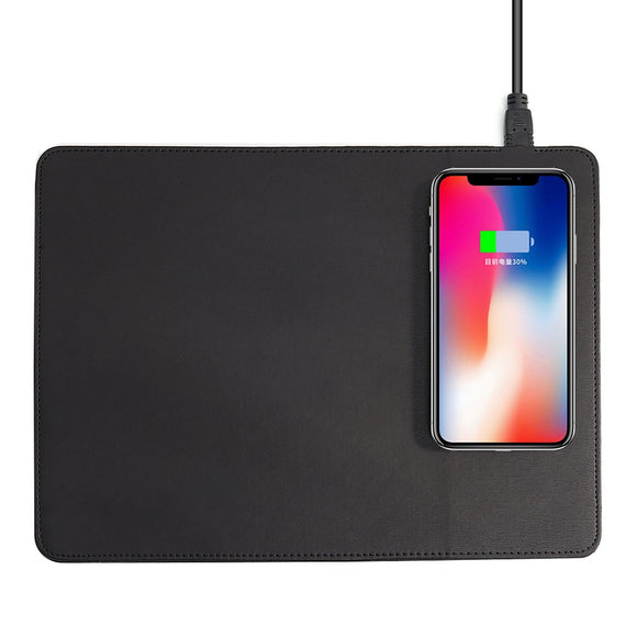 Mobile Phone Qi Wireless Mouse Pad Charger