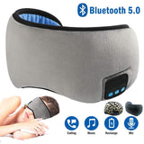 Wireless Bluetooth Sleep Eye Mask Headphone with Built-in Speakers Mic for hands free use