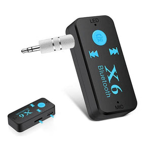 Aux Bluetooth Wireless In Car Audio Receiver