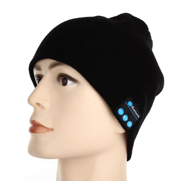 Beanie Cap with Bluetooth USB Rechargeable Music Headset