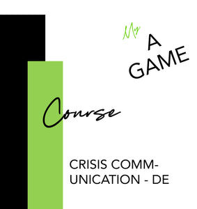 Special Course - Crisis Communication (COVID-19) - DE