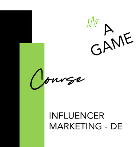 Special Course - Influencer Marketing - DE