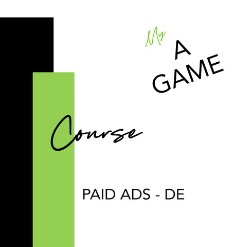 Special Course - Paid Advertisement - DE