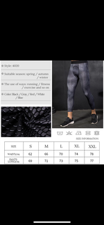 Load image into Gallery viewer, Men´s Compression Fitness Pants