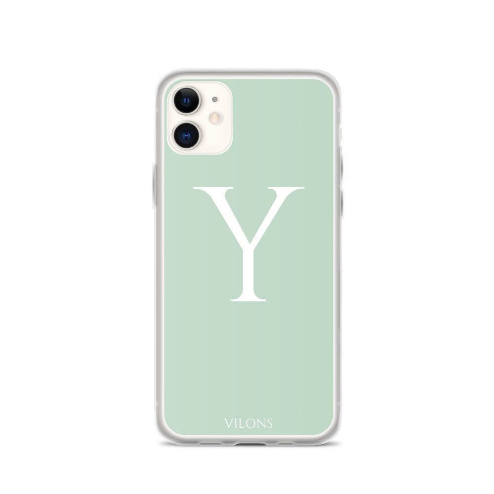 Y LIGHT GREEN iPhone Case