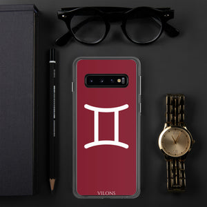 GEMINI RED Samsung Case