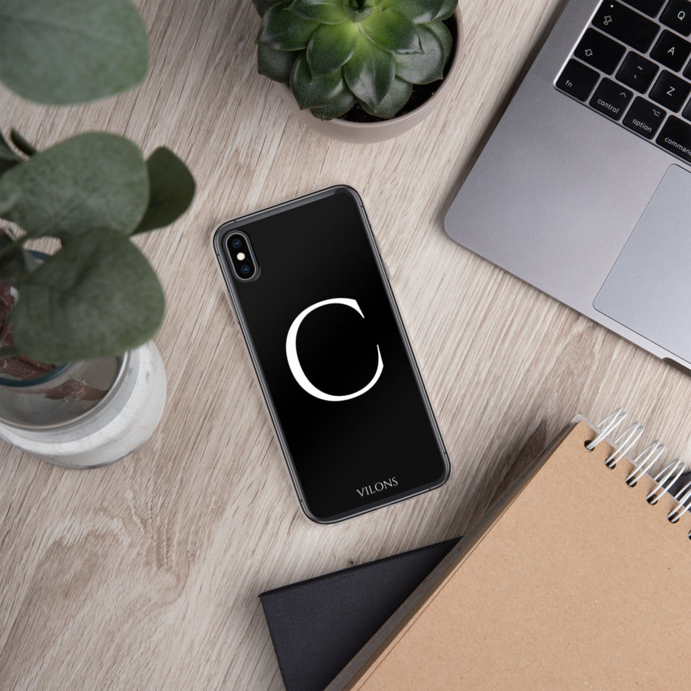 C BLACK iPhone Case