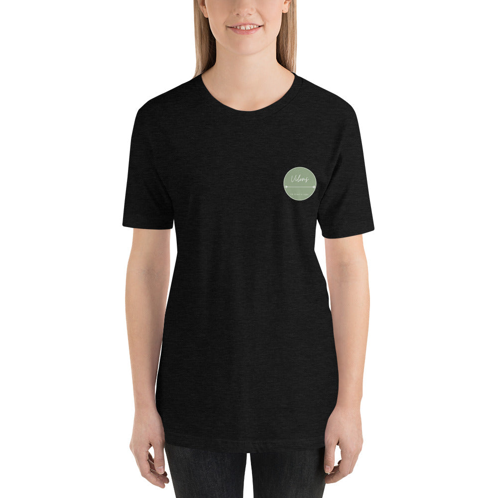 NICOSIA DARK Short-Sleeve Unisex T-Shirt
