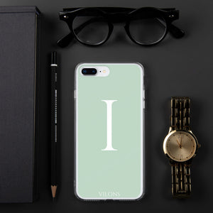 I LIGHT GREEN iPhone Case