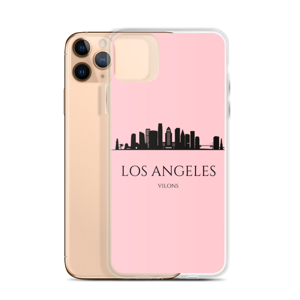 LOS ANGELES PINK iPhone Case
