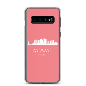 MIAMI PINK/WHITE Samsung Case