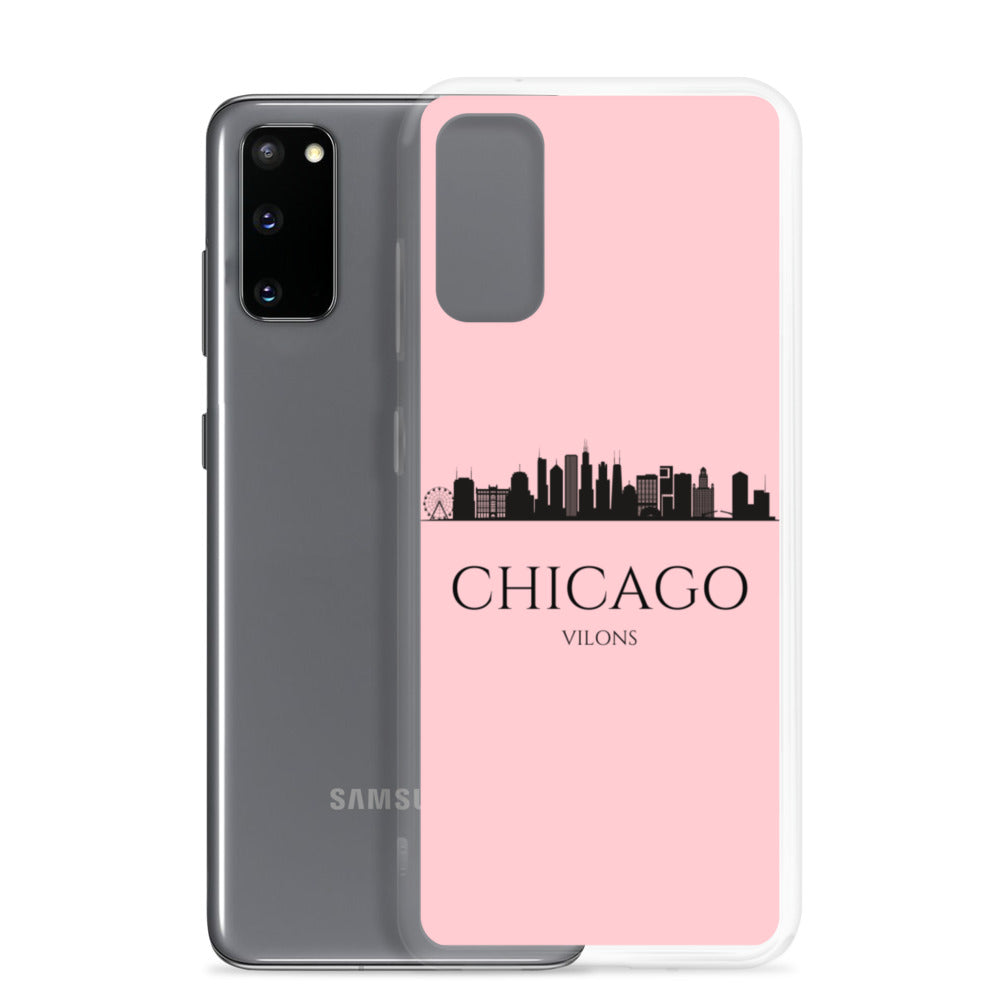CHICAGO PINK Samsung Case
