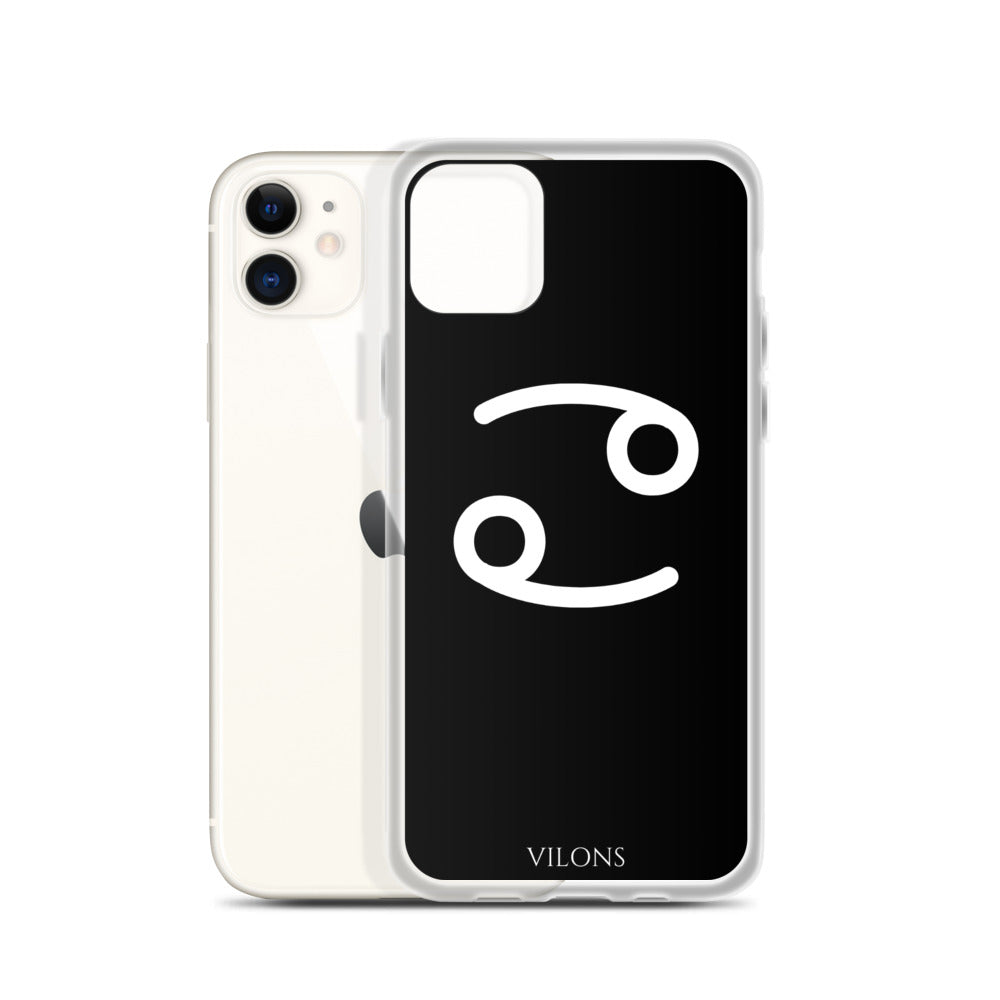 CANCER BLACK iPhone Case