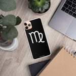 Load image into Gallery viewer, VIRGO BLACK iPhone Case