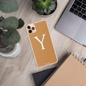 Y BROWN iPhone Case